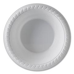 SOLO® Cup Company Party Plastic Premium Dinnerware, Bowl, 12 oz, White, 25/Pack