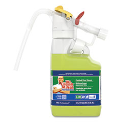 P&G Professional™ Dilute 2 Go, Mr Clean Finished Floor Cleaner, Lemon Scent, 4.5 L Jug, 1/Carton