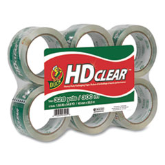 6 per Pack DUC299016 Duck HD Clear Packaging Tape