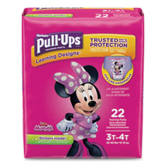 Huggies® Pull-Ups Learning Designs Potty Training Pants for Girls, Size 3T-4T, 22/Pack