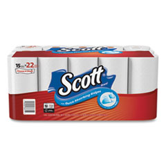 Scott® Choose-A-Sheet Mega Kitchen Roll Paper Towels, 1-Ply, White, 102/Roll, 30 Rolls Carton
