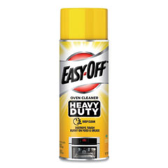 EASY-OFF® Heavy Duty Oven Cleaner, Fresh Scent, Foam, 14.5 oz Aerosol, 12/Carton