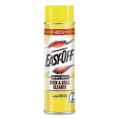 Professional EASY-OFF® Oven and Grill Cleaner, Unscented, 24 oz Aerosol Spray