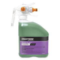 Coastwide Professional™ DC Plus Neutral Disinfectant-Cleaner Concentrate for ExpressMix Systems, Lemon Scent, 110 oz Bottle, 2/Carton
