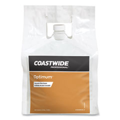 Coastwide Professional™ Optimum Floor Finish, Unscented, 2.5 gal Bag, 2/Carton