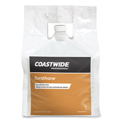 Coastwide Professional™ Durathane High-Solids Floor Finish, Unscented, 2.5 gal Bag, 2/Carton