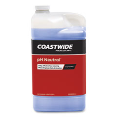 Coastwide Professional™ pH Neutral Daily Floor Cleaner Concentrate for ExpressMix Systems, Strawberry Scent, 110 oz Bottle, 2/Carton