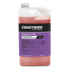 Coastwide Professional™ Hepastat 256 One-Step Disinfectant-Cleaner Concentrate for ExpressMix Systems, Unscented, 110 oz Bottle, 2/Carton
