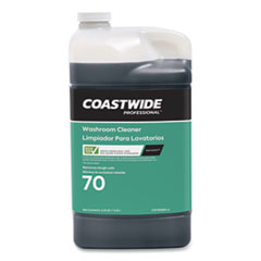 Coastwide Professional™ Washroom Cleaner 70 Eco-ID Concentrate for ExpressMix Systems, Fresh Citrus Scent, 110 oz Bottle, 2/Carton