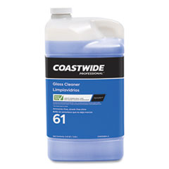 Coastwide Professional™ Glass Cleaner 61 Eco-ID™ Ammonia-Free Concentrate