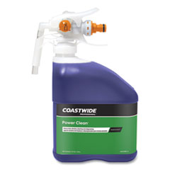 Coastwide Professional™ Power Clean Heavy-Duty Cleaner-Degreaser Concentrate for EasyConnect Systems, Grape Scent, 101 oz Bottle, 2/Carton