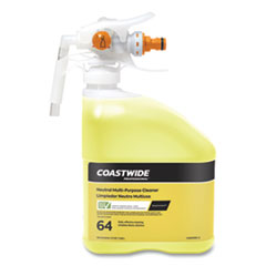 Coastwide Professional™ Plastic Bottle with Graduations, For Use With Coastwide Professional 64 Neutral Multi-Purpose Cleaner, 32 oz