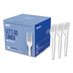 Perk™ Eco-ID™ Mediumweight Compostable Cutlery
