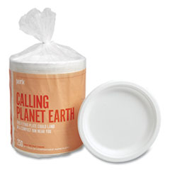 Perk™ Compostable Paper Plates