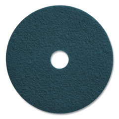 "Coastwide Professional™ Cleaning Floor Pads, 20"" Diameter, Blue, 5/Carton"