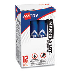 Avery® MARKS A LOT® Regular Desk-Style Permanent Marker