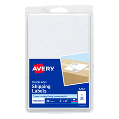 Avery® 4 x 6 Shipping Labels with TrueBlock® Technology