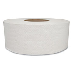 Morcon Tissue Jumbo Bath Tissue, Septic Safe, 2-Ply, White, 500 ft, 12/Carton