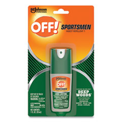 OFF!® Deep Woods Sportsmen Insect Repellent, 1 oz Spray Bottle