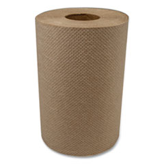 "Morcon Tissue Morsoft Universal Roll Towels, 8"" x 350 ft, Brown, 12 Rolls/Carton"