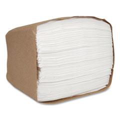 Morcon Tissue Morsoft Dispenser Napkins, 6.5 x 5, White, 250/Pack, 24 Pack/Carton