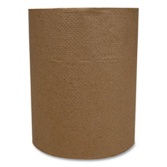 "Morcon Tissue Morsoft Universal Roll Towels, Kraft, 1-Ply, 600 ft, 7.8"" Dia, 12 Rolls/Carton"