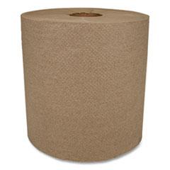 "Morcon Tissue Morsoft Universal Roll Towels, 1-Ply, 8"" x 700 ft, Kraft, 6 Rolls/Carton"