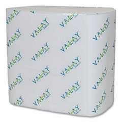Morcon Tissue Valay Interfolded Napkins, 2-Ply, 6.5 x 8.25, White, 500/Pack, 12 Packs/Carton