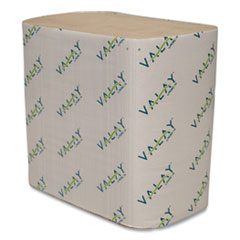 Morcon Tissue Valay Interfolded Napkins, 2-Ply, 6.5 x 8.25, Kraft, 6,000/Carton