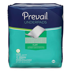 Prevail® Underpads, 23 x 36, White, 150/Carton