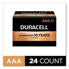 CopperTop Alkaline AAA Batteries, 24/Box