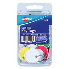 Avery® Key Tags with Split Ring