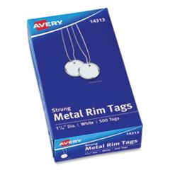 Avery® Metal Rim Tags