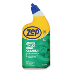 Zep® Acidic Toilet Bowl Cleaner, Mint, 32 oz Bottle, 12/Carton