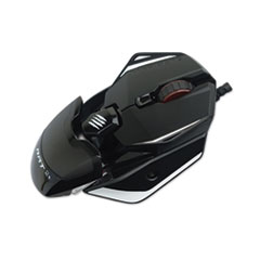 Mad Catz® Authentic R.A.T. 2 Plus Optical Gaming Mouse, USB 2.0, Left/Right Hand Use, Black