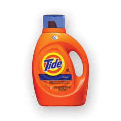 Tide® HE Laundry Detergent, Original Scent, Liquid, 64 Loads, 92 oz Bottle, 4/Carton