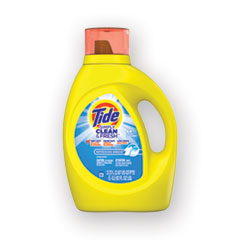 Tide® Simply Clean and Fresh Laundry Detergent, Refreshing Breeze, 64 Loads, 92 oz Bottle, 4/Carton