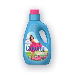 Downy® Liquid Fabric Softener, April Fresh, 39 Loads, 64 oz Bottle, 4/Carton