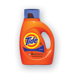 Tide® Liquid Tide Laundry Detergent, 32 Loads, 46 oz Bottle, 6/Carton