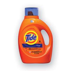 HE Laundry Detergent, Original Scent, Liquid, 64 Loads, 92 oz Bottle