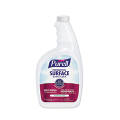 PURELL® Foodservice Surface Sanitizer, Fragrance Free, Capped Bottle with Spray Trigger, 6 Bottles and 2 Spray Triggers/Carton