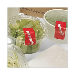 "National Checking Company™ SecureIT Tamper Evident Food Container Seal, ""Secure It"", 1 x 3, Red, 250/Roll, 2 Rolls/Pack"