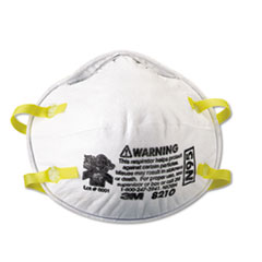 3M™ Lightweight Particulate Respirator 8210, N95, 20/Box