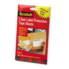 Scotch® ScotchPad™ Label Protection Tape Sheets Thumbnail