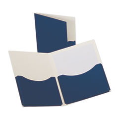 Oxford™ Double Stuff® Twin-Pocket Folder