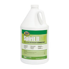 Zep® Spirit II Ready-to-Use Disinfectant, Citrus Scent, 1 gal Bottle, 4/Carton