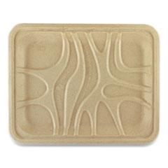 World Centric® Fiber Trays, 9.1 x 7.1 x 0.7, Natural, 500/Carton