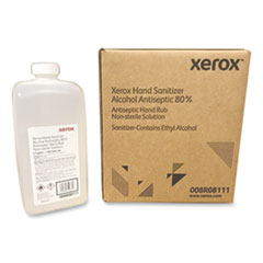 Xerox® Liquid Hand Sanitizer, 0.5 gal Bottle, Unscented, 4/Carton