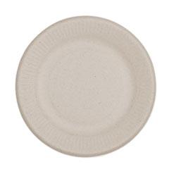 "World Centric® Fiber Plates, Ripple Edge, 6"", Natural, 1,000/Carton"