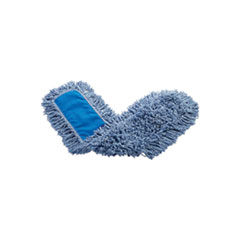 Rubbermaid® Commercial Twisted Loop Blend Dust Mop, Blend, 36 x 5, Blue